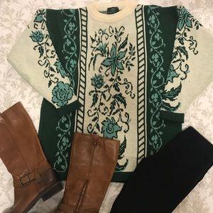 Emerald Isle oversized made in Ireland sweater